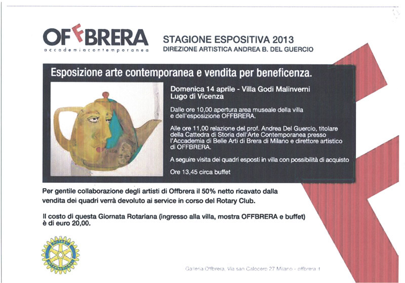 2013.04 Mostra di beneficenza Offbrera 2